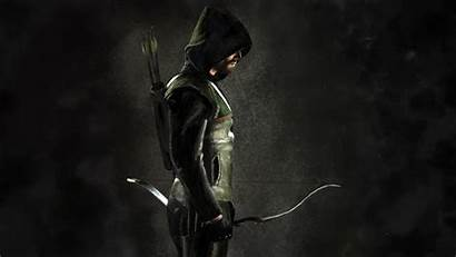 Arrow Oliver Queen Wallpapers Photoshop Cw Painting