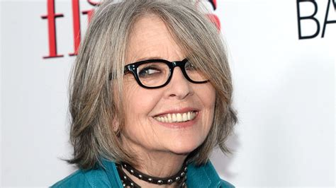 wacky fearless  impeccably dressed  diane keaton