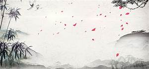 China Style Banner Background, Chinese Style, Ink ...