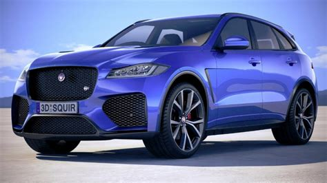 jaguar  pace svr unveiled youtube