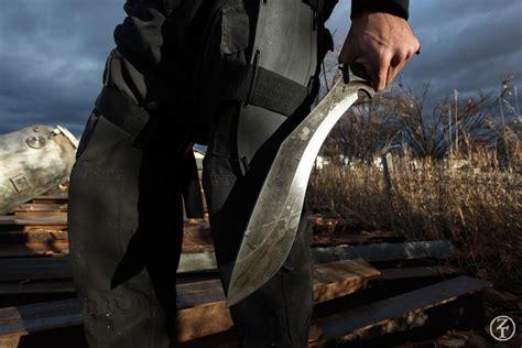 zombie tools vakra kukri weapons killing zombietools sheath sword blades catalog