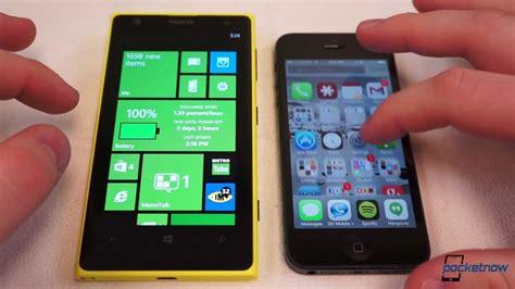 windows phone vs iphone ios 7 vs windows phone 8