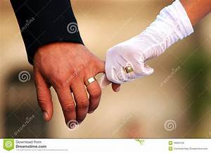 wedding couple holding hands stock photos image 19933123 With wedding rings on both hands
