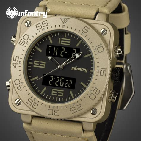 infantry mens watches top brand luxury  analog digital  men military tactical watches