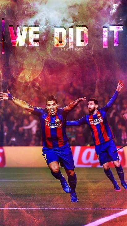 Suarez Barcelona Fc Wallpapers Barca Luis Messi