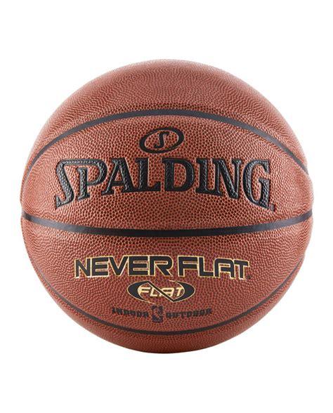 nba neverflat premium indoor outdoor basketball spalding