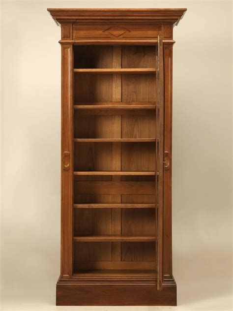Bookcase Sale by Antique Bookcase In Solid Walnut For Sale At 1stdibs