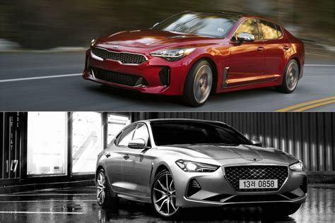 genesis motors boss pays  attention   kia stinger