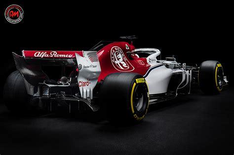 La Scuderia Alfa Romeo Sauber F1 Ha Presentato La C37