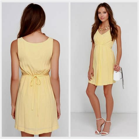 light yellow dress light yellow summer dress naf dresses