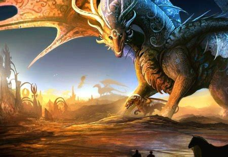 giant dragon fantasy abstract background wallpapers