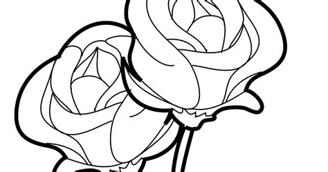 Contoh Gambar Kartun Bunga Mawar Sobponsel