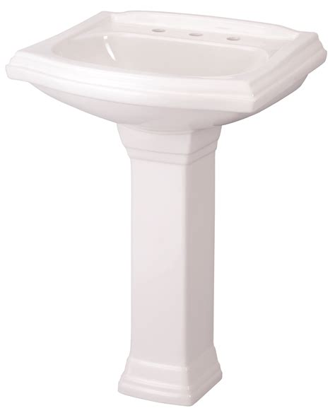 Gerber Maxwell Pedestal Sink by Allerton 4 Quot Centers Standard Pedestal Bathroom Sink