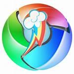 Google Chrome Rainbow Dash Icons Desktop Icon