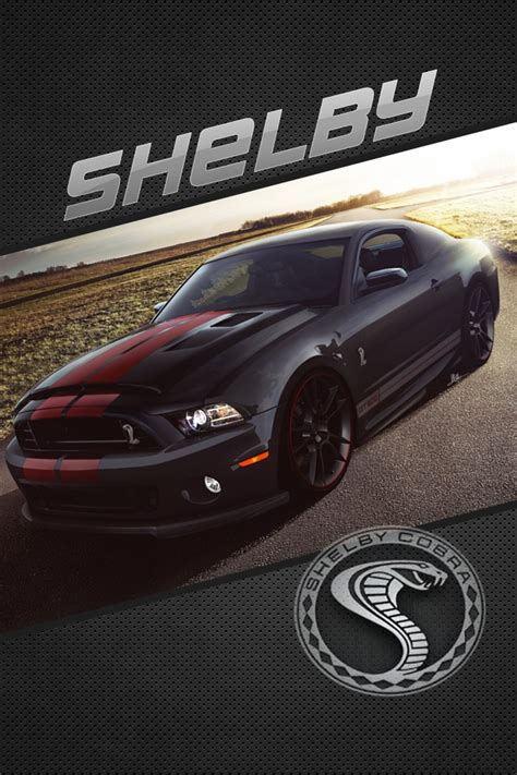 ford mustang shelby gt iphone  wallpaper  dysands