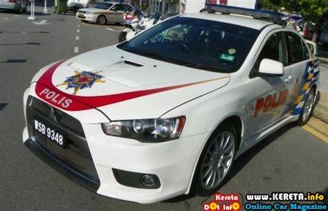 kereta mitsubishi evo pdrm police car kereta polis malaysia mitsubishi evo x