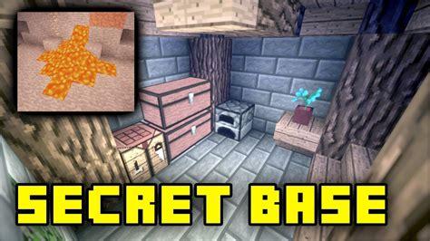 secret minecraft underground base tutorial youtube
