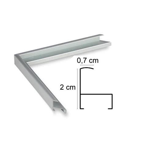 cadre aluminium argent sur mesure avec plexiglas et dos sur cadre et encadrement
