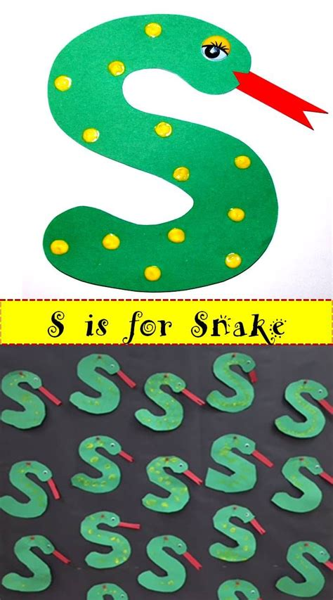 best 25 letter s crafts ideas on letter 642 | 6ccafdf9f9c4abadbd567b9ff2444b84 letter s art letter a craft