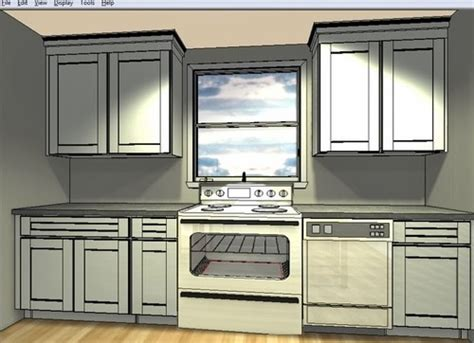 Kitchen Design With Island Layout - range hood in front of window great idea or terrible idea