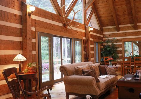 Home Interior : Log Home Interiors