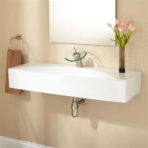 bathroom vanity with sink and faucet reasons to buy wall mounted bathroom sinks ward log homes
