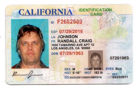 Cali Id 10 California Drivers Id Template Psd Images