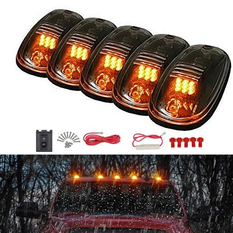 Xamber Led Smoke Cab Marker Roof Clearance Lights Wire