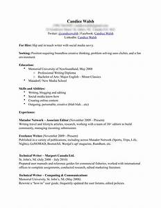Best photos of example of a completed resume completed for Completed resume examples