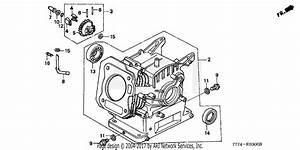 Honda Fr650 Ac Rototiller  Jpn  Vin  Fzbv