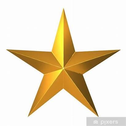 Estrellas Oro Ster Gouden Sticker Stella Klistremerke