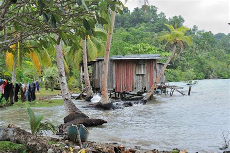 sinking islands in the south pacific pacific front lines of climate change of bergen