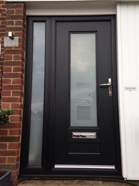 black composite front doors black composite front door