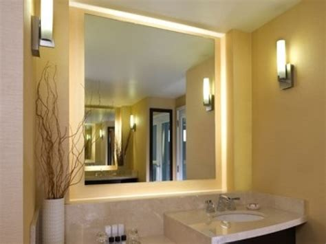 Amazing Idea Lighted Bathroom Mirror Led Lowes Round