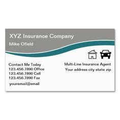 auto agent business cards images business cards
