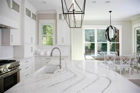 white quartz countertops  enhance  appeal   kitchen