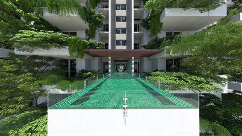 Vertikaler Garten Bewohnt Gruen Hochhaus Clearpoint