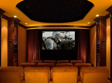 home theater ceiling home theater traditional with custom