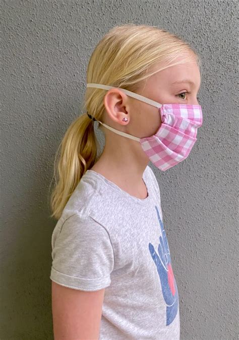 fabric face mask  ties  elastic  everyday