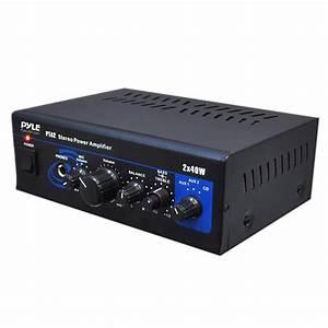 New Pyle Pta2 Mini Stereo Power Amplifier