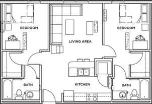 2 bed 2 bath floor plans 2 bed 2 bath apartment wait list the callaway house housing tx