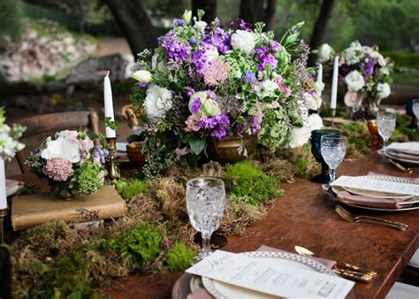 rustic inspirational wedding shoot   forest  woodsy