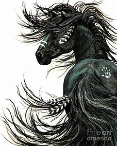 Majestic Spirit Horse Painting by AmyLyn Bihrle