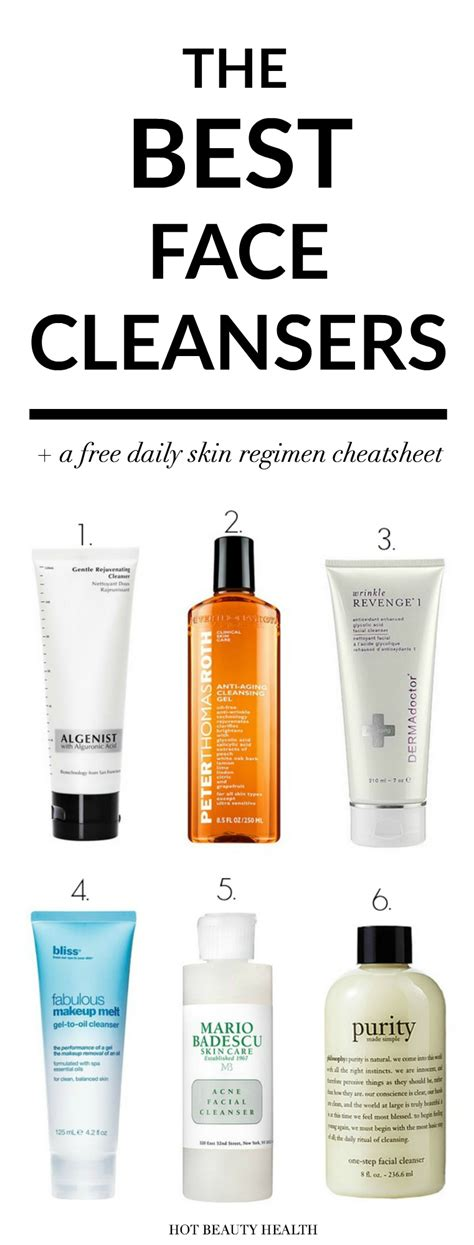 best cleansing for skin the best cleansers for glowing skin