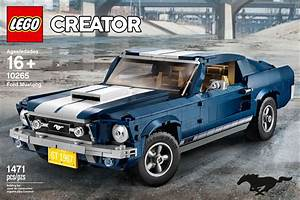 Want! Lego's 1,471-Piece 1967 Ford Mustang Fastback Kit Is Sweet | Automobile Magazine