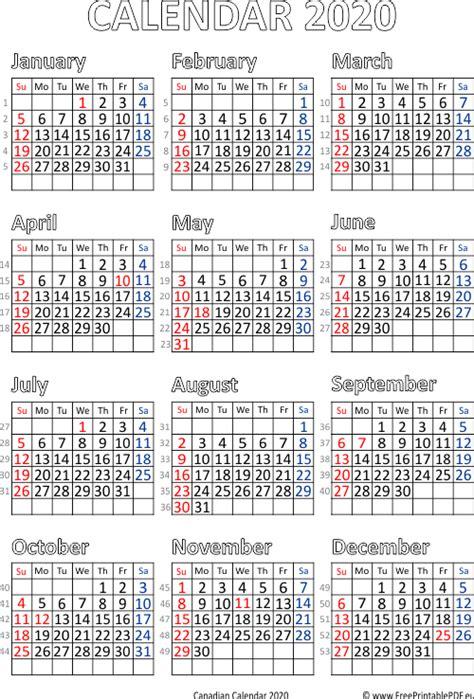 calendar canada printable printable