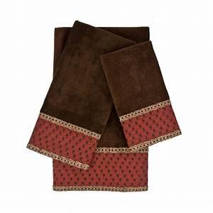 Austin Horn Collection Kirkwood Embellished Towel Set (3