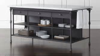 how big is a kitchen island kitchen 72 quot large kitchen island crate and barrel