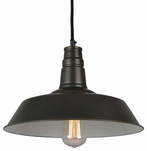 Bromi design calvin light industrial pendant modern