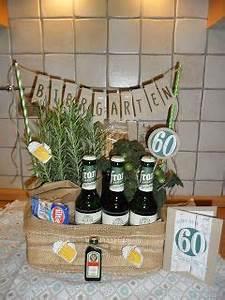 Ideen Zum 40 Geburtstag Mann : kreatives allerlei biergarten stampin 39 up karte 60 geburtstag geschenk geschenke ~ Avissmed.com Haus und Dekorationen